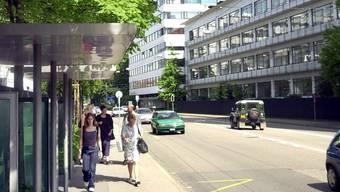 Grenzacherstrasse in Basel