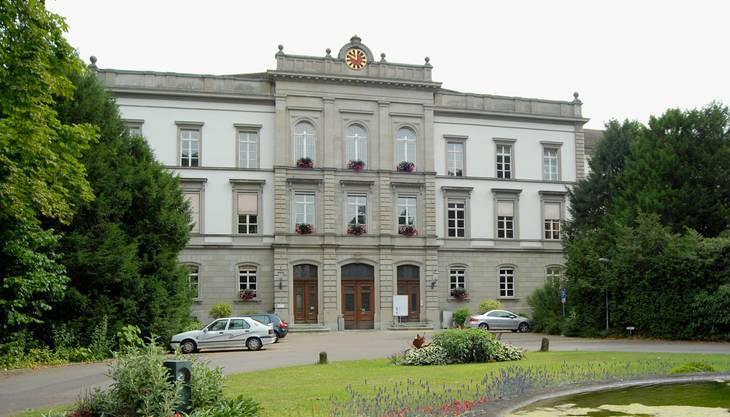 Das Hauptgebäude der Psychiatrischen Dienste in Königsfelden. (Archiv)