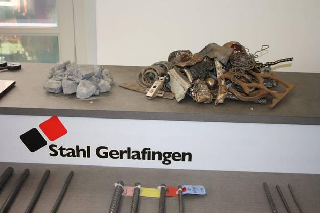 Die Stahl Schweiz AG in Gerlafingen ist auch innen vertreten