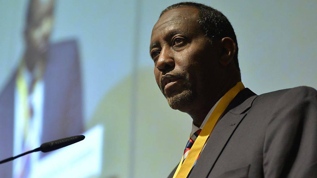 Die USA haben angedroht, Mitte Oktober aus dem Weltpostverein auszutreten. Bishar Hussein, der Generaldirektor der Uno-Organisation, sprach bei einer Krisensitzung in Genf von einem «Albtraum-Szenario». (Archivbild)