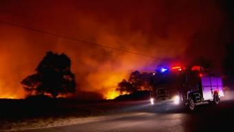 Im Osten von Australien wüten zum Frühlingsanfang über 60 Buschfeuer. Mehrere Personen mussten bereits evakuiert werden. Ein Feuerwehrmann schwebt nach einer Brandverletzung in Lebensgefahr.