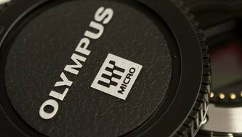 Das Logo von Olympus (Archiv)