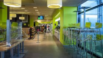 Die Shops am EuroAirport Basel sind zu.