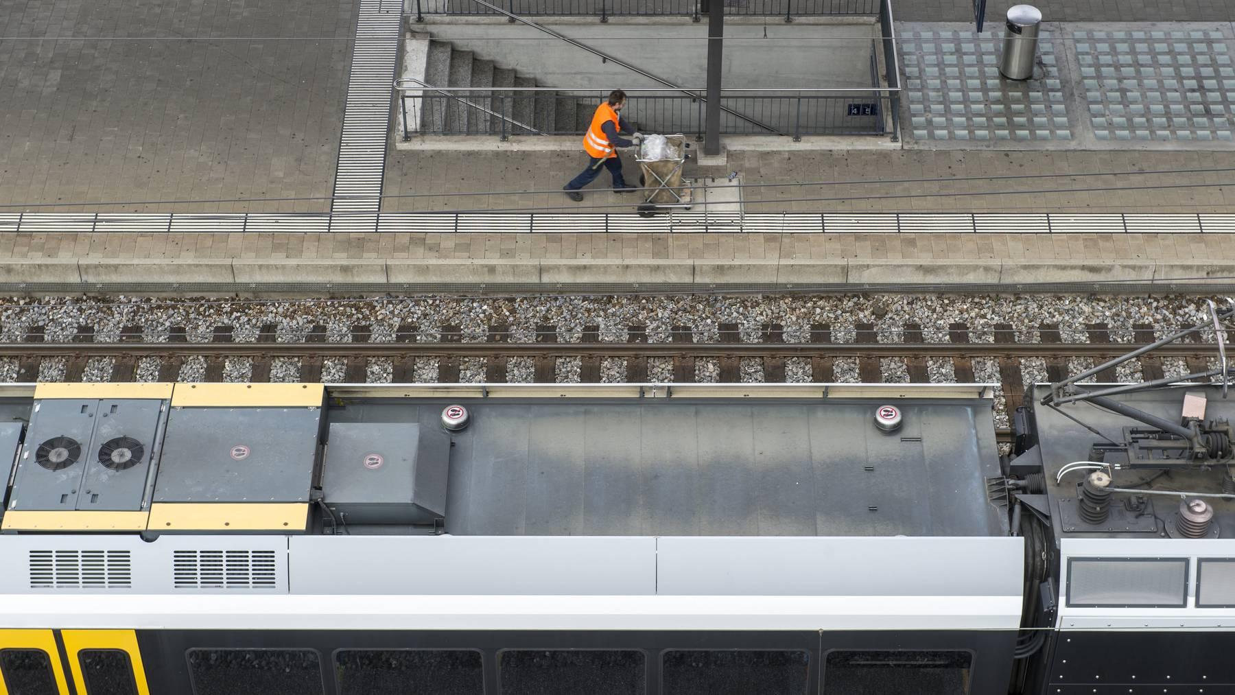 Der Bahnhof Rorschach ist für den Bahnverkehr unterbrochen