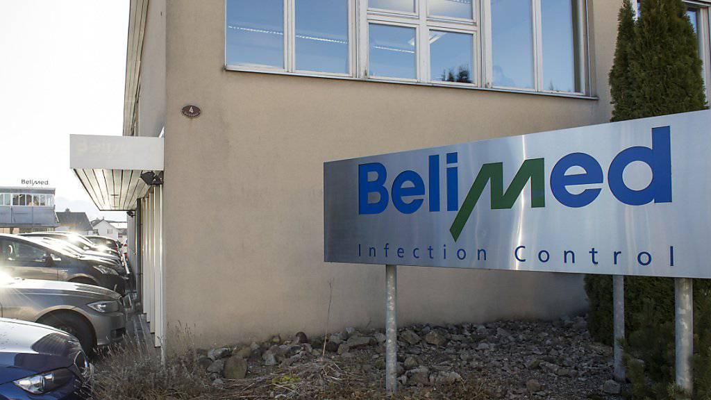 Neuer Abbau von Metall Zug bei der Tochter Belimed: Nach der Schliessung des Werks im luzernischen Ballwil werden nun im deutschen Mühldorf rund 100 Stellen abgebaut. (Archivbild vom einstigen Werk im Ballwil)