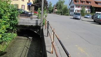 Beim Schäflibach sollen in den kommenden Jahren alle Bachdurchlässe sukzessive vergrössert werden, um die Hochwassergefahr zu bannen.