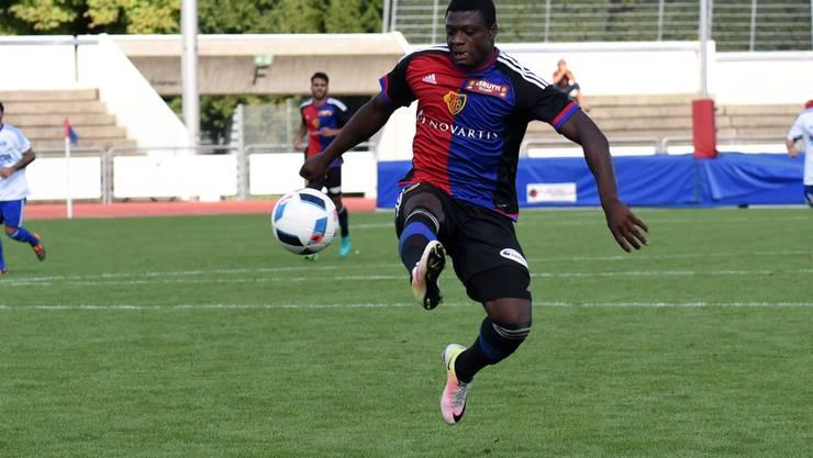 Steuerte in Sofia einen Treffer bei: Neftali Manzambi und seine Kollegen gaben sich beim 4:0 gegen Ludogorets keine Blösse.