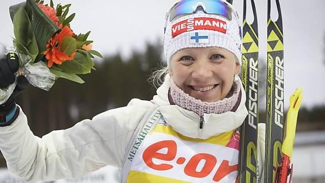 Kaisa Mäkäräinen sicherte sich in Oslo den Gesamtweltcup