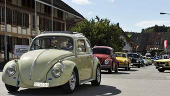 VW-Oldtimer Show in Leuzigen