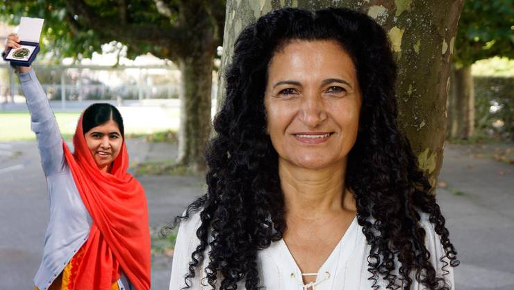 Sems Sera Leisinger setzt sich für den Malala Fund ein.