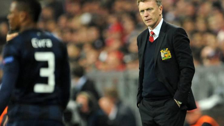 Moyes, der vor seinem Wechsel nach Manchester gut elf Jahre erfolgreich bei Everton gearbeitet hatte, scheiterte krachend
