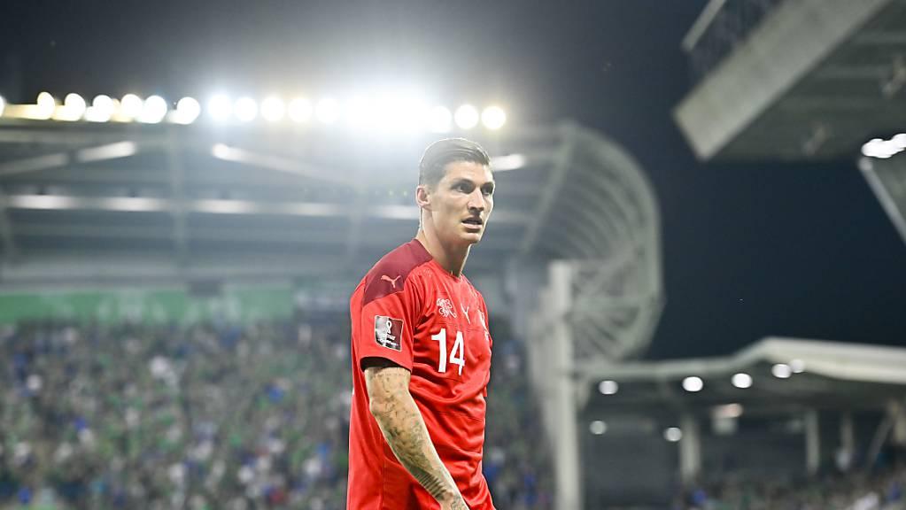 Steven Zuber, hier im Trikot der Schweizer Nationalmannschaft, braucht in Griechenland keine Anlaufzeit.