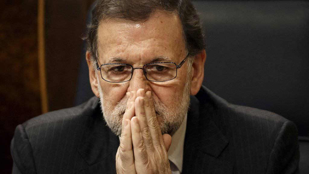 Fand den Scherz «nicht seriös»: Spaniens Ministerpräsident Mariano Rajoy (Archiv)
