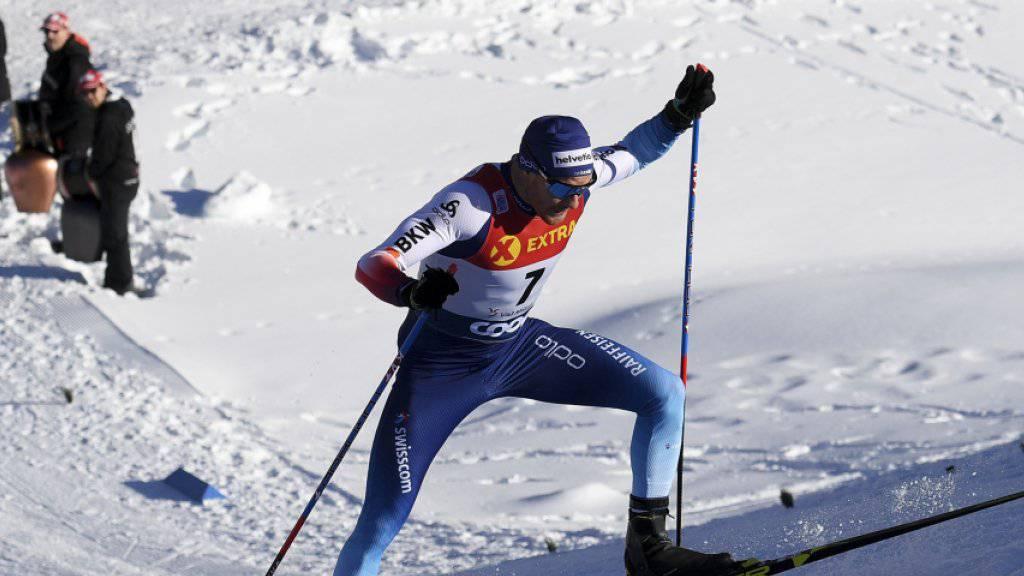 Dario Cologna muss aus gesundheitlichen Gründen auf die Schlussetappe an der Tour de Ski verzichten
