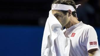 Roger Federer steht nach schweisstreibender Arbeit in den Halbfinals.