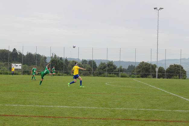 Die FCU Altstars zeigen auch auf dem Spielfeld vollen Einsatz