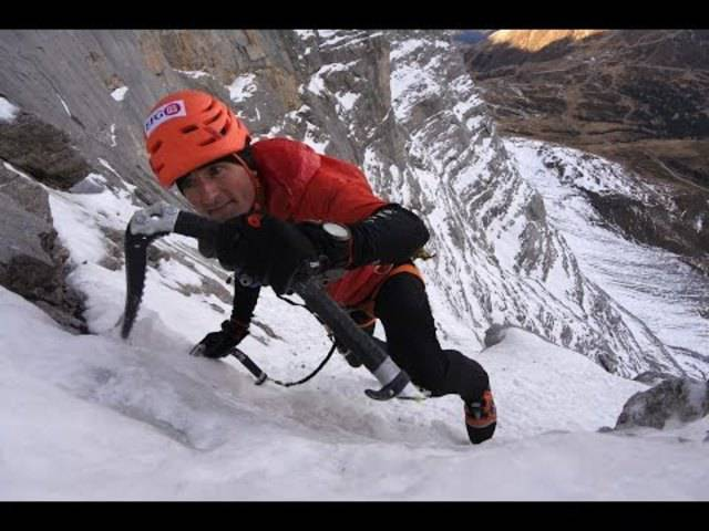 Ueli Steck holt sich seinen Speed-Rekord am Eiger zurück