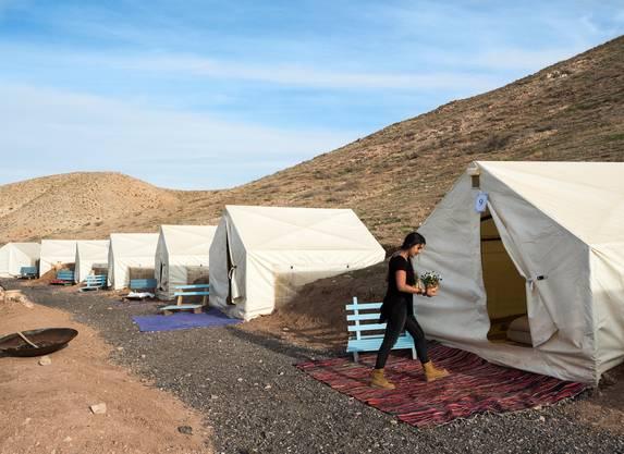 Illegal: Zeltresort «Desert Camping Israel».
