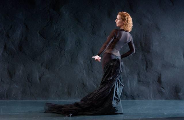 Brigitta Luisa Merki war auch Tänzerin: hier im Stück Centaura y Flamenca  2003.