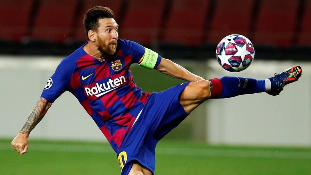 Der Künstler am Ball: Lionel Messi liefert gegen Napoli den Beweis, dass er und Barcelona noch immer Grosses schaffen können