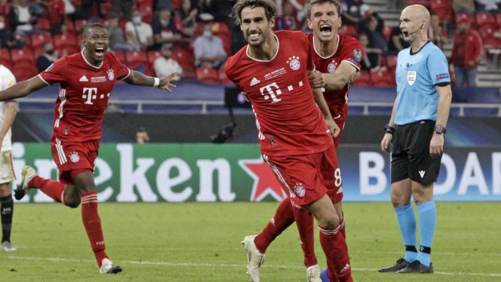 Bayern München siegt nach Verlängerung