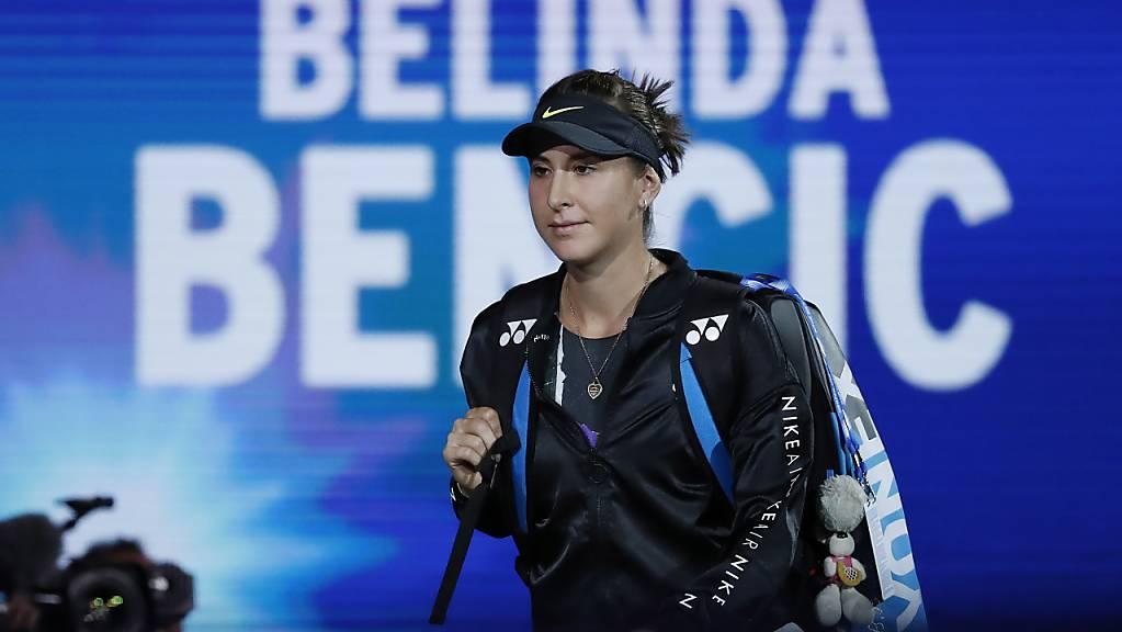 Stolz auf das erstmalige Erreichen eines Grand-Slam-Halbfinals: Für Belinda Bencic war das US Open trotz der Enttäuschung am Schluss ein sehr gutes Turnier
