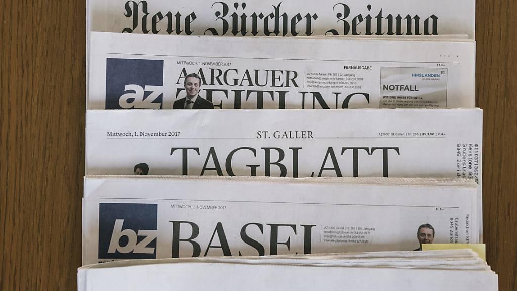 Dem Ständerat ist die Medienvielfalt wichtig - vor allem im Printbereich. Er hat deshalb die Bundesgelder für die indirekte Presseförderung aufgestockt. (Archivbild)