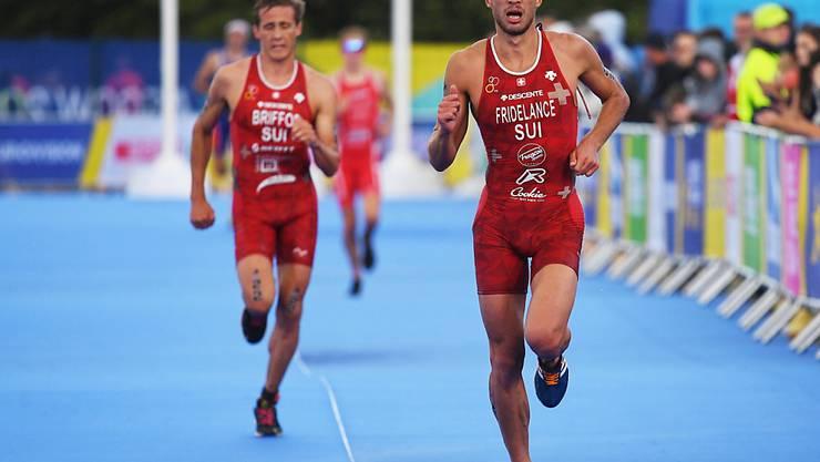 Sylvain Fridelance klassierte sich am olympischen Testevent in Tokio nur im 40. Rang