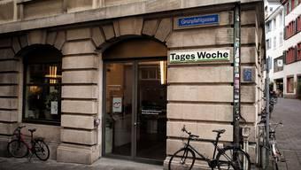 Das Gründungsbüro der Tageswoche in der Basler Gerbergasse.