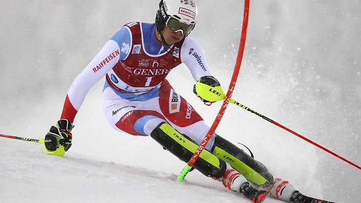 Eröffnete in Levi mit der Startnummer 1 die Slalom-Weltcupsaison: der Walliser Ramon Zenhäusern