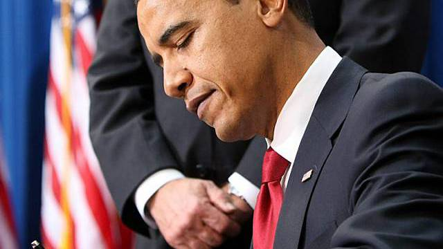 Obama unterzeichnet Konjunktur-Gesetz