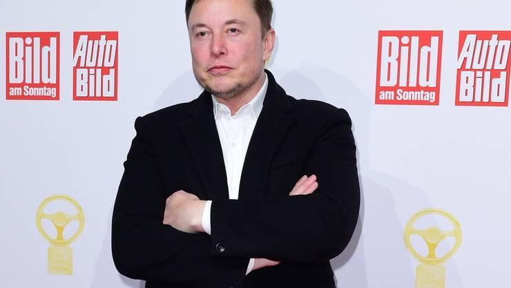 Will nun auch in Deutschland produzieren: Tesla-Chef Elon Musk.