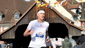 OL-Spezialist Matthias Kyburz hat schon öfters bewiesen, dass er es mit den besten Langstreckenläufern der Schweiz aufnehmen kann. (Bild: Alexander Wagner; Bremgarten, 23. Februar 2019)