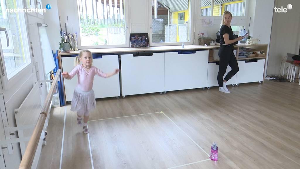 An der Tanzschule Adligenswil wird in Quadraten getanzt