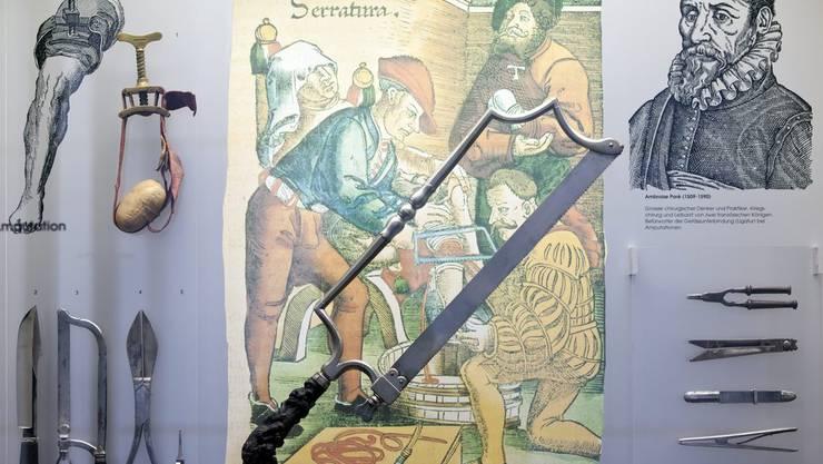 Exponate aus dem Medizinhistorischen Museum der Universität Zürich