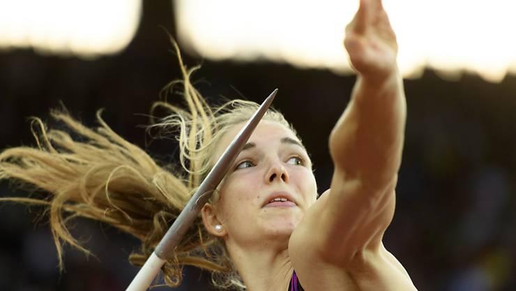 Im letzten Jahr die Überfliegerin unter den Nachwuchs-Leichtathleten: Siebenkämpferin Géraldine Ruckstuhl