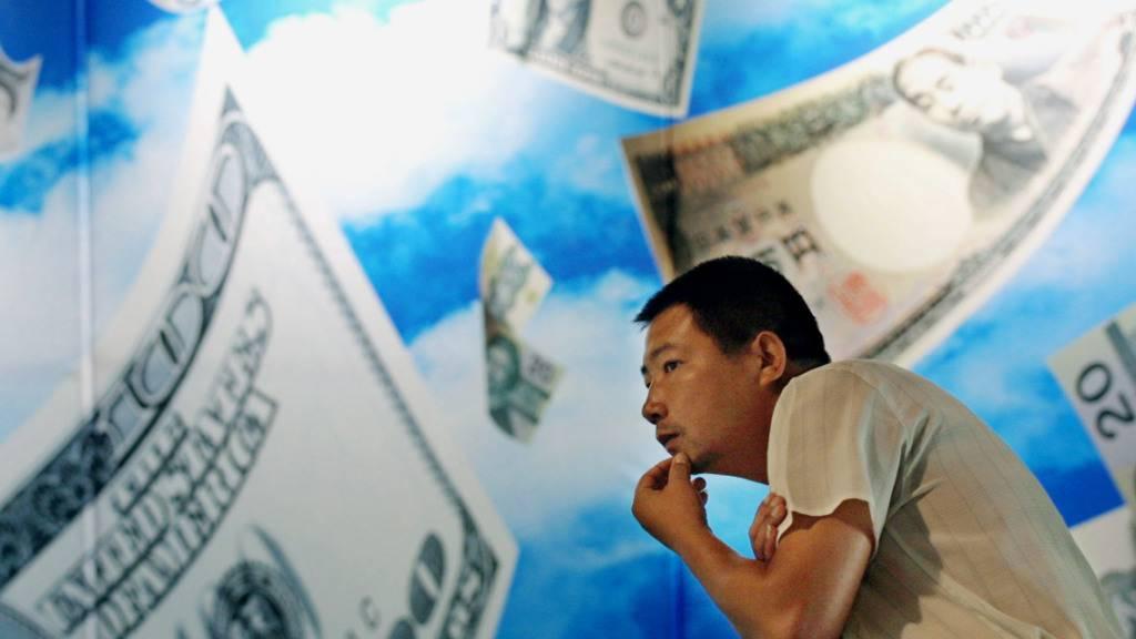 China hat die gesetzliche Grundlage für Online-Geld geschaffen und macht bei Kryptowährungen einen Satz nach vorne. (Symbolbild)
