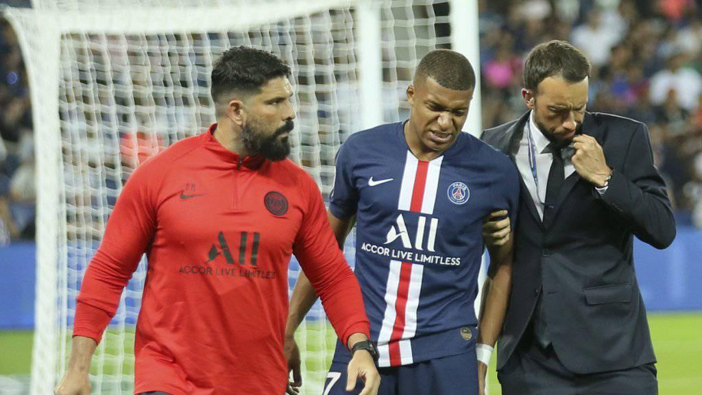 PSG mehrere Wochen ohne Cavani und Mbappé
