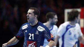 Frankreichs erfolgreichster Torschütze im Rekordspiel gegen Island: Michael Guigou