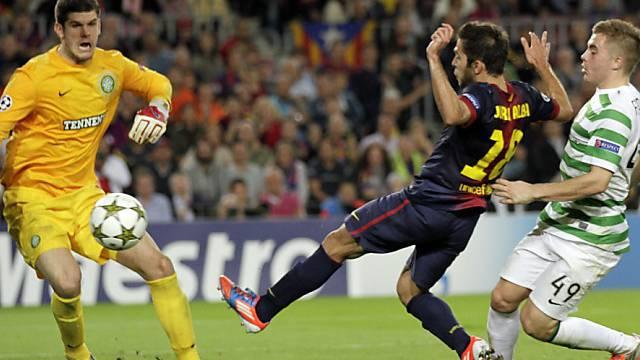 Jordi Alba erlöste Barcelona kurz vor dem Schlusspfiff