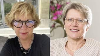 Isabelle Graesslé (links) und Rita Famos.