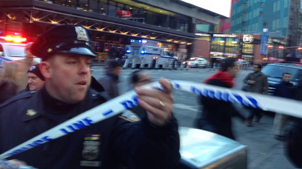Manhattan Explosion New York