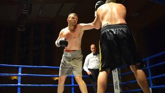 In der zweiten Runde schlug Gjergjaj seinen Gegner K.O.