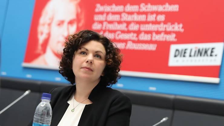 Die Rechtsanwältin Amira Mohamed Ali sitzt seit 2017 für Die Linke im Bundestag.