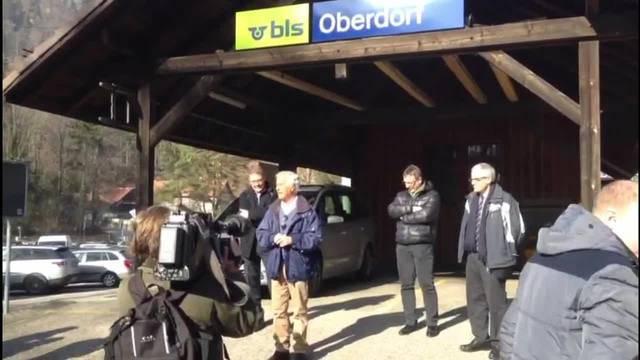 Walter Straumann über den Entscheid des Bundesamtes für Verkehr den Weissensteintunnel zu sanieren