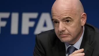 Unter Druck: Fifa-Präsident Gianni Infantino.