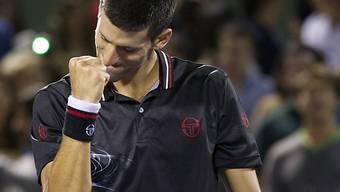 Novak Djokovic auf Finalkurs