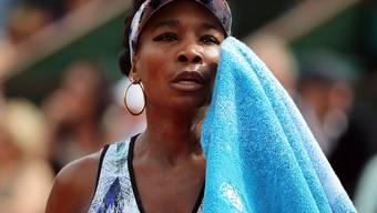 Aus und vorbei: Venus Williams schied am Sonntag am French Open gegen Timea Bacsinszky als letzte Spielerin aus, die bereits ein Grand-Slam-Turnier gewonnen hat
