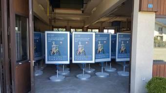 Die erfolgreichen «Öisi Aare»-Plakate vom letzten Jahr stehen wieder zum Einsatz im Aareraum bereit, dazu werden noch neue Sujets kommen.
