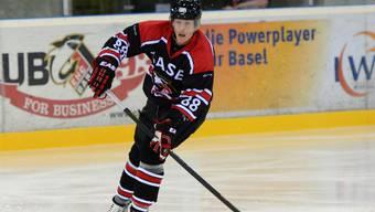 Louis Heinis, hier im Trikot der Basel Sharks, bleibt in Heilbronn.